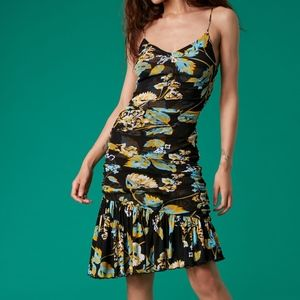 Diane von Furstenberg Louie Mesh Dress Size M